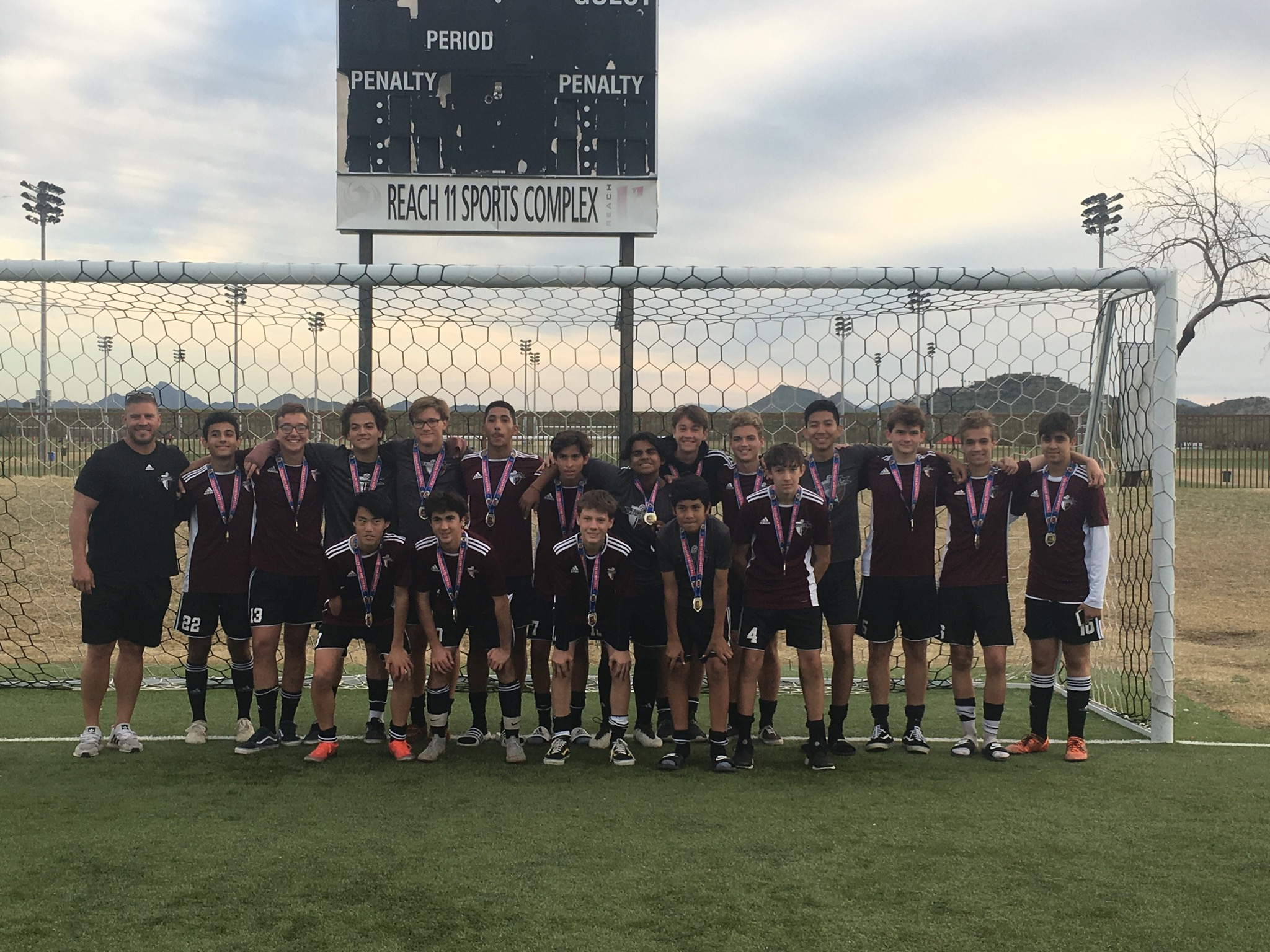 2002 Boys Win 2019 RSL-AZ Ostrich Festival Tournament